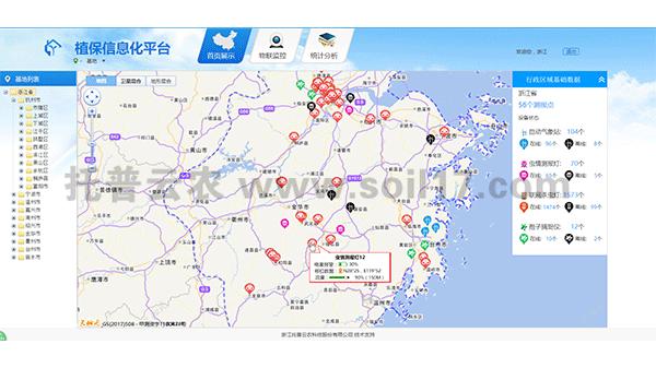 无线农业气象综合监测站